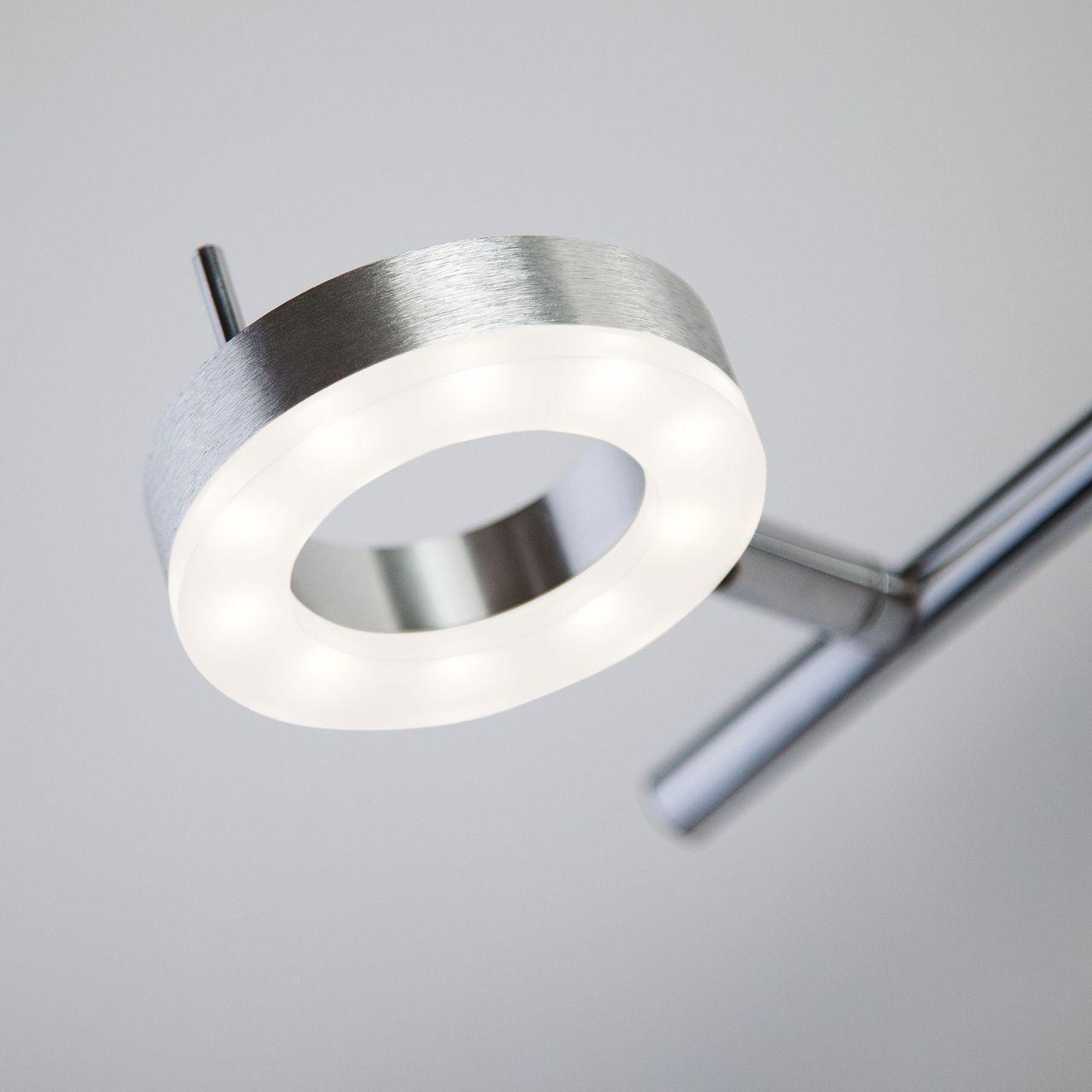 Светодиодный спот Eurosvet Wheel 20001/3 алюминий