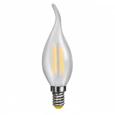 Лампа светодиодная E14 4W 4000К свеча на ветру матовая VG10-CW2E14cold4W-F 7007