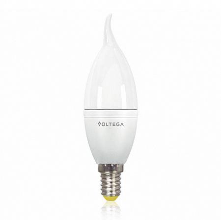 Лампа светодиодная E14 5.5W 2800К свеча на ветру матовая VG2-CW2E14warm5W 8339