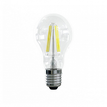 Лампа светодиодная E27 10W 2800К груша прозрачная VG10-А1E27warm10W-F 7102