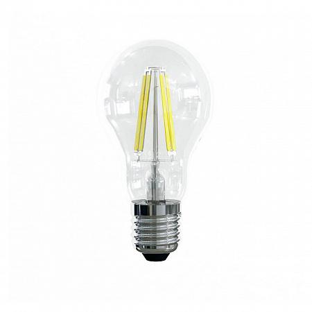 Лампа светодиодная E27 10W 4000К груша прозрачная VG10-А1E27cold10W-F 7101