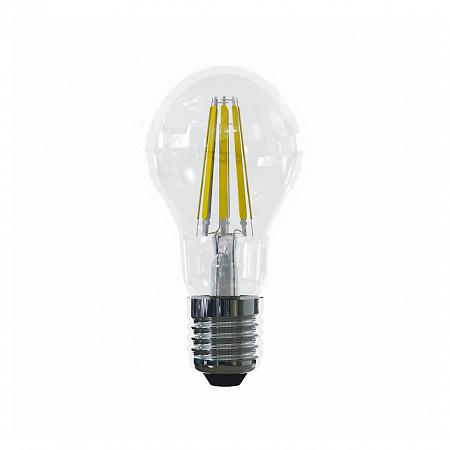 Лампа светодиодная E27 15W 4000К груша прозрачная VG10-A1E27cold15W-F 7103