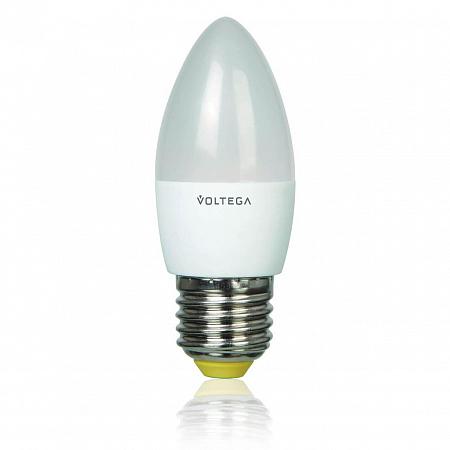 Лампа светодиодная E27 5.4W 2800К свеча матовая VG3-C2E27warm6W 4716