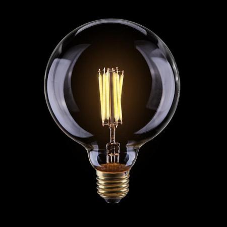 Лампа светодиодная диммируемая E27 8W 2800К шар прозрачный VG10-G125Cwarm8W 7012