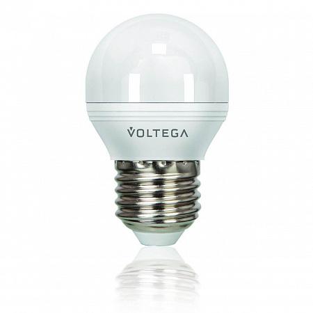 Лампа светодиодная диммируемая E27 5.7W 4000К шар матовый VG2-G2E27cold6W 8442