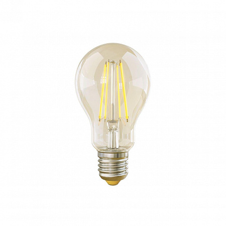 Лампа светодиодная диммируемая E27 8W 2800К груша прозрачная VG10-А1E27warm8W-FD 5489
