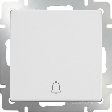 Кнопка звонка белая WL01-04-01 4690389099809