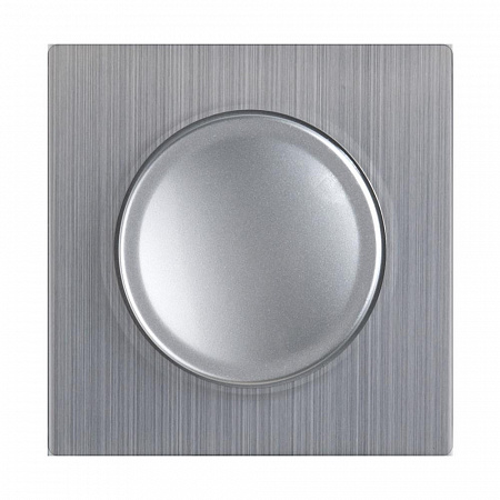 Накладка для диммера глянцевый никель WL02-DM-CP 4690389100390