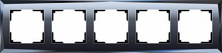 Рамка Diamant на 5 постов черный WL08-Frame-05 4690389063664