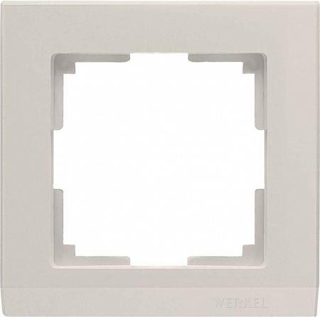 Рамка Stark на 1 пост слоновая кость WL04-Frame-01-ivory 4690389046506