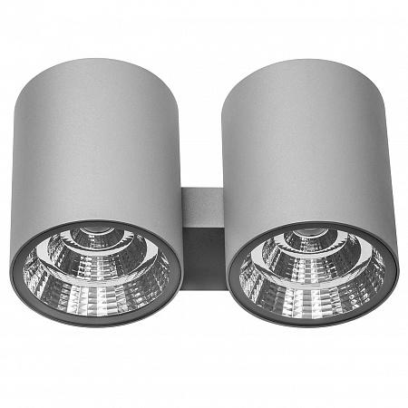 Уличный настенный светодиодный светильник Lightstar Paro 372592