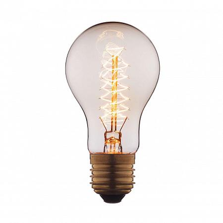 Лампа накаливания E27 40W груша прозрачная 1003