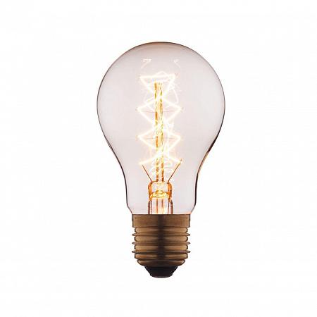 Лампа накаливания E27 40W груша прозрачная 1003-C