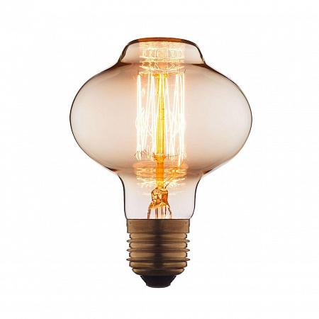 Лампа накаливания E27 40W груша прозрачная 8540-SC
