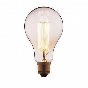Лампа накаливания E27 40W груша прозрачная 9540-SC