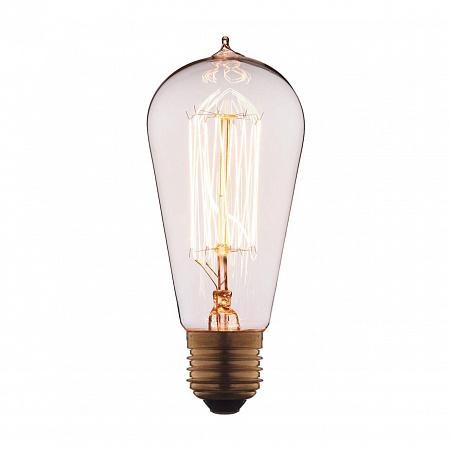 Лампа накаливания E27 40W колба прозрачная 6440-SC