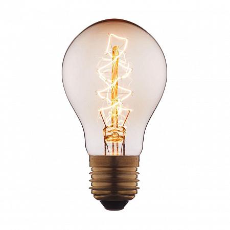 Лампа накаливания E27 60W груша прозрачная 1004-C
