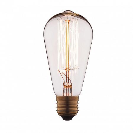 Лампа накаливания E27 60W колба прозрачная 1008