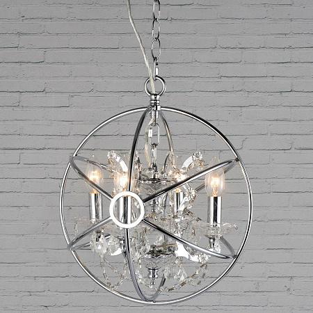 Подвесная люстра Loft IT Crystal Wins Loft1896/4