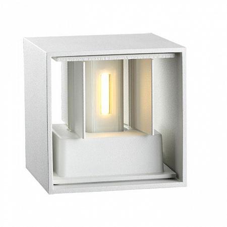 Уличный настенный светодиодный светильник Novotech Calle 357518