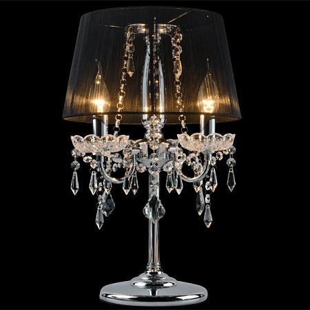 Настольная лампа Eurosvet 2045/3T хром/черный
