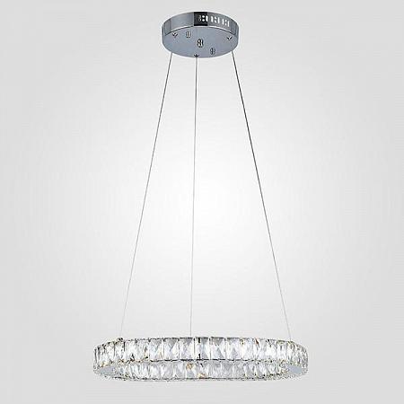 Подвесной светодиодный светильник Eurosvet Грация 90023/1 хром