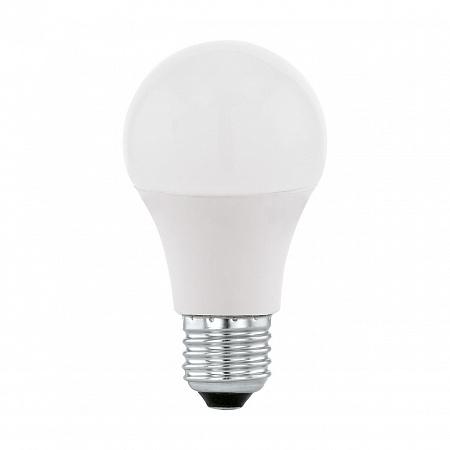 Лампа светодиодная E27 9W 2700-6500K груша матовая 11586