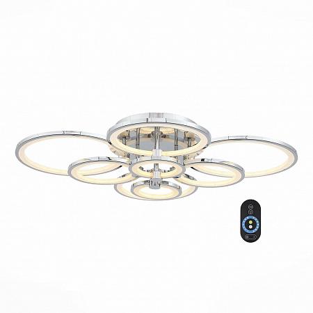 Потолочная светодиодная люстра с пультом ДУ ST Luce Twiddle Dimmer SL867.102.08