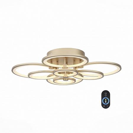 Потолочная светодиодная люстра с пультом ДУ ST Luce Twiddle Dimmer SL867.202.08