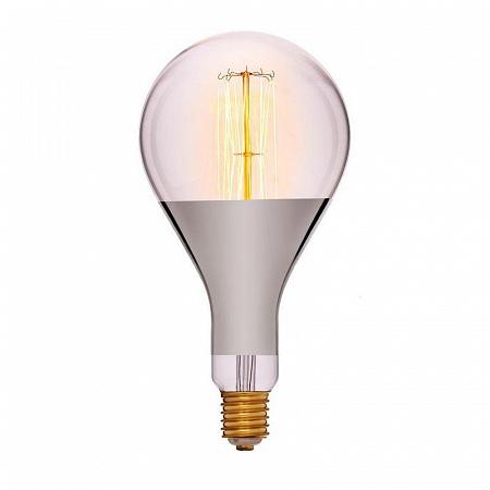 Лампа накаливания E40 95W груша прозрачная 052-108