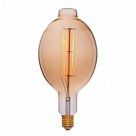 Лампа накаливания E40 95W груша прозрачная 053-792