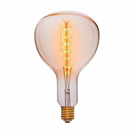 Лампа накаливания E40 95W колба прозрачная 053-839