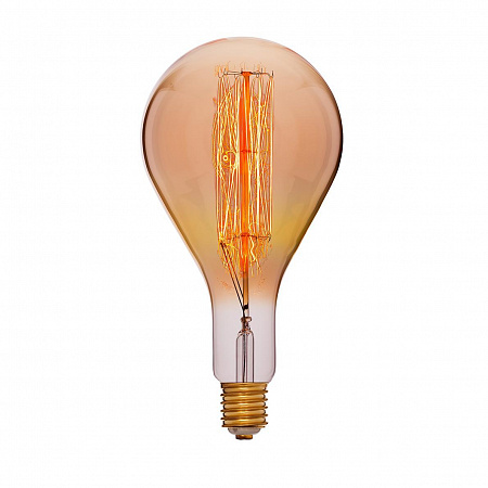 Лампа накаливания E40 95W колба прозрачная 054-119