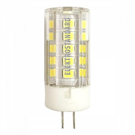 Лампа светодиодная G4 5W 3300K кукуруза прозрачная 4690389093654