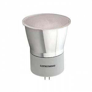 Лампа энергосберегающая MR16 G5.3 11W 2700К с рассеивателем желтый 4690389013218