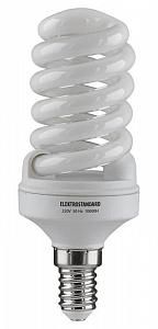 Лампа энергосберегающая E14 15W 2700К спираль матовая 4607138140521