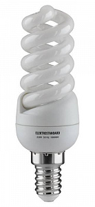 Лампа энергосберегающая E14 11W 4200K спираль матовая 4607176194999