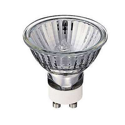 Лампа галогенная MRG-03 GU10 50W полусфера прозрачная 4607176197112
