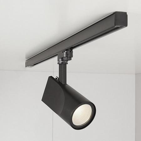 Трековый светодиодный светильник Elektrostandard Vista черный 32W 4200K 4690389111518