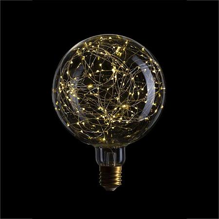 Лампа светодиодная E40 4,5W 2600K шар прозрачный 057-035