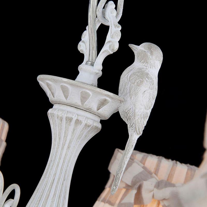 Подвесная люстра Maytoni Bird ARM013-08-W