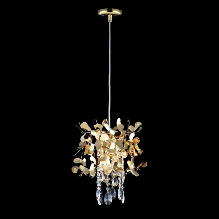 Подвесная люстра Crystal Lux Romeo SP2 Gold D250