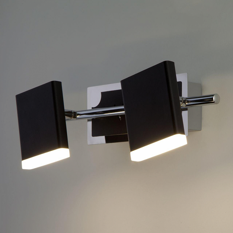 Светодиодный спот Eurosvet Collin 20000/2 черный