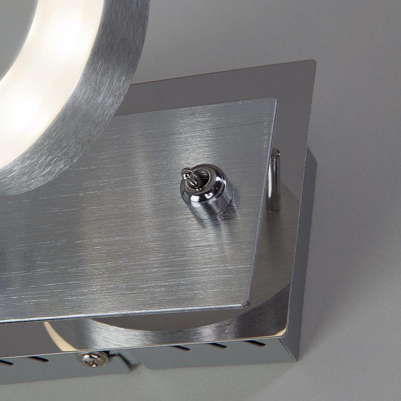 Светодиодный спот Eurosvet Wheel 20001/1 алюминий