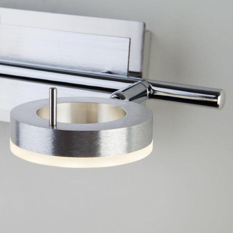 Светодиодный спот Eurosvet Wheel 20001/2 алюминий