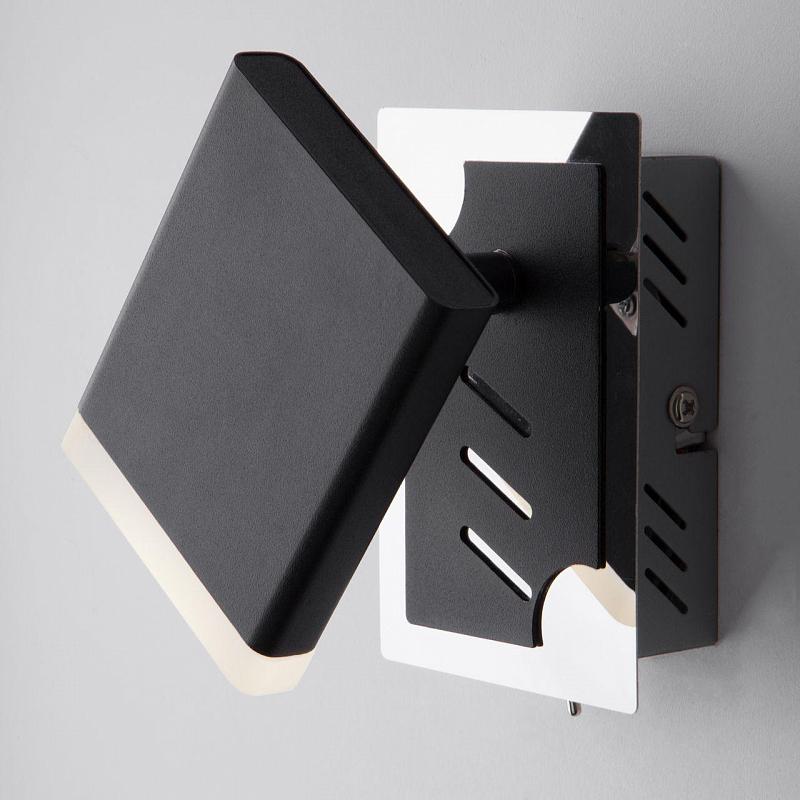 Светодиодный спот Eurosvet Collin 20000/1 черный