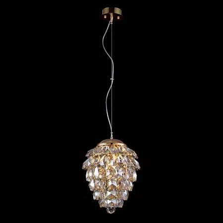 Подвесной светильник Crystal Lux Charme SP2+2 LED Gold/Amber