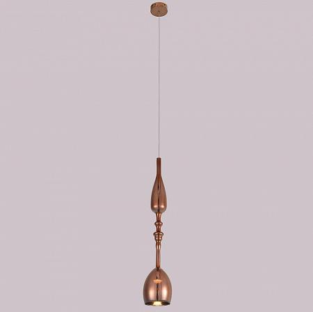 Подвесной светодиодный светильник Crystal Lux Lux SP1 C Copper
