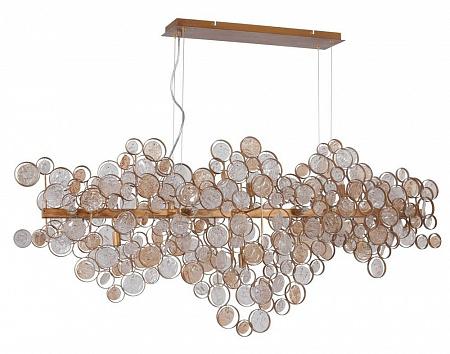 Подвесной светильник Crystal Lux Deseo SP15 L1400 Gold