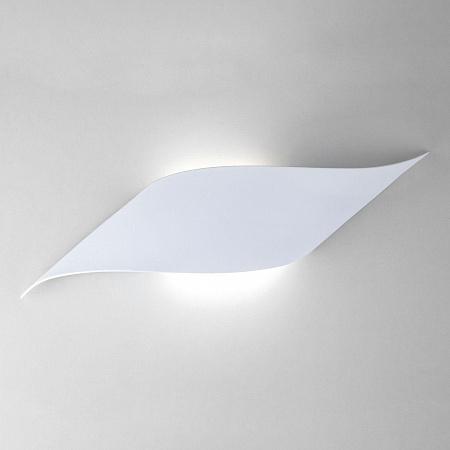 Настенный светодиодный светильник Eurosvet Elegant 40130/1 Led белый